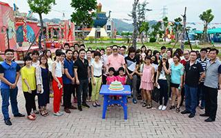 快乐柏亚 快乐分享 ——记2015年上半年度员工生日活动
